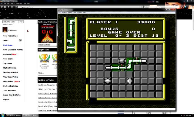OriginalGamer: Pipe Dream [Game A/ Level 8] (NES/Famicom Emulated) 39,000 points on 2016-07-15 16:24:54
