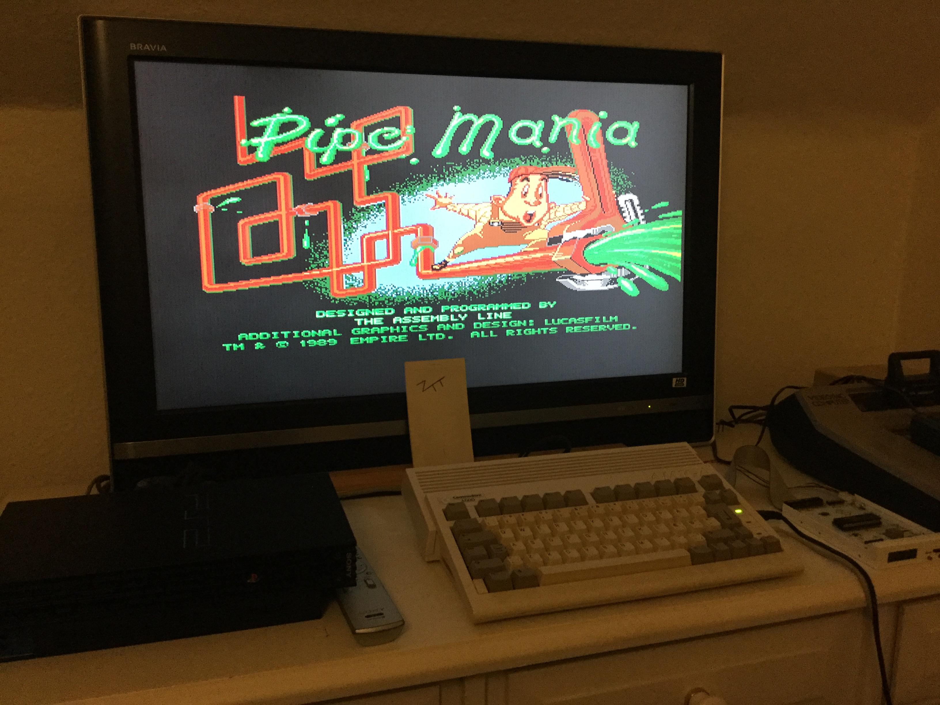 Frankie: Pipe Mania (Amiga) 12,700 points on 2017-10-28 13:00:10