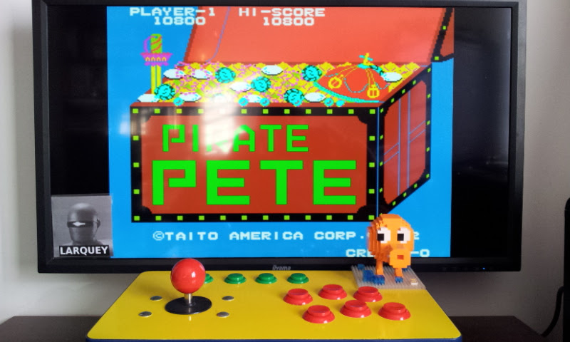 Larquey: Pirate Pete [piratpet] (Arcade Emulated / M.A.M.E.) 10,800 points on 2017-02-19 10:01:07