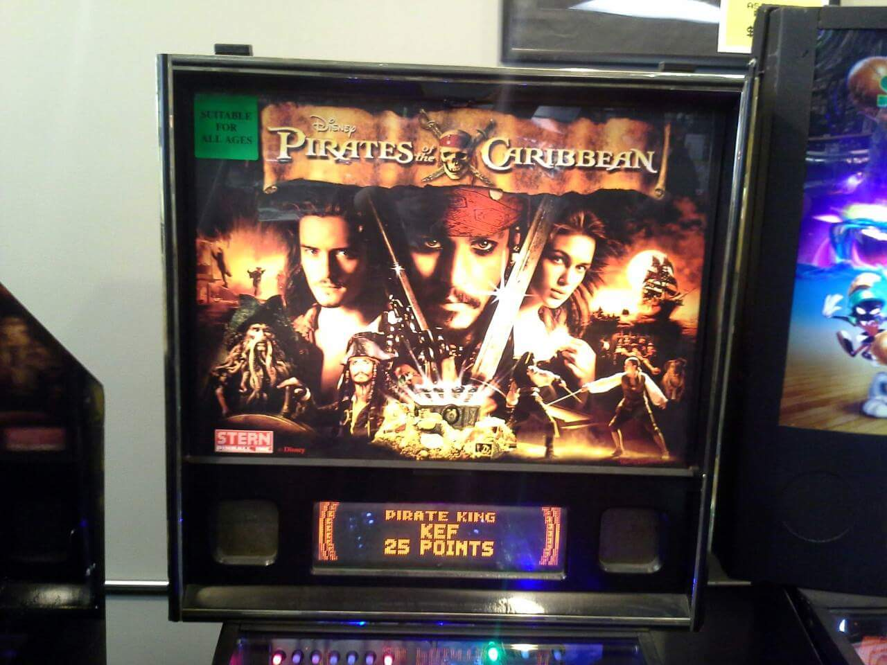 Pirates of the Caribbean 4,235,110 points
