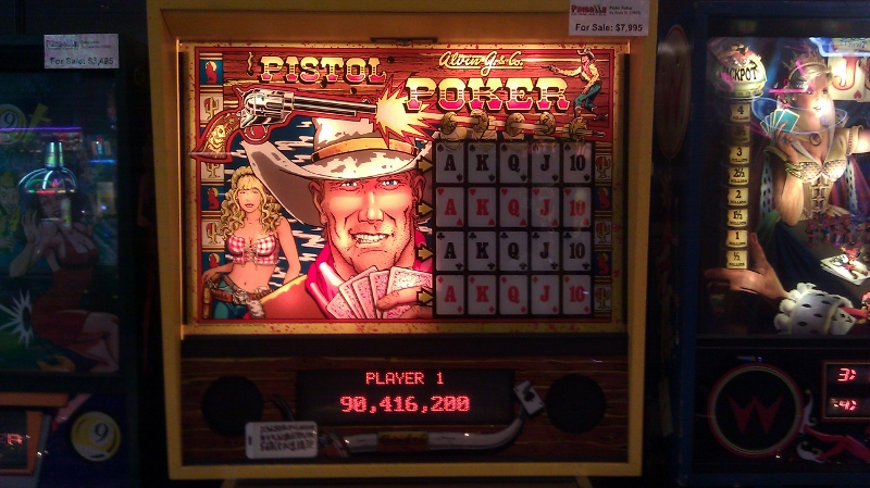 Pistol Poker 105,040,070 points