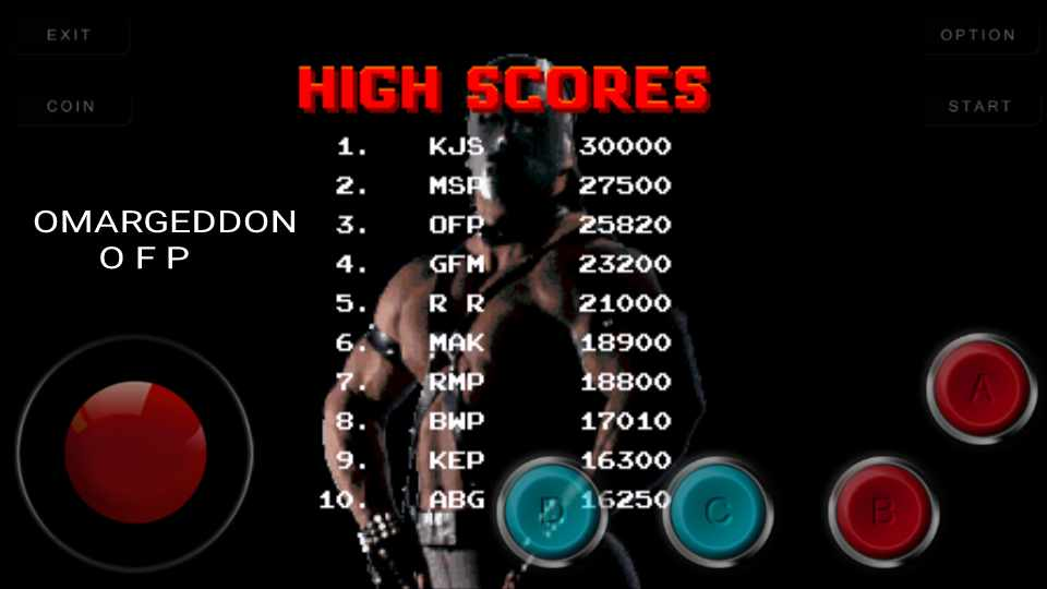 Pit Fighter 25,820 points