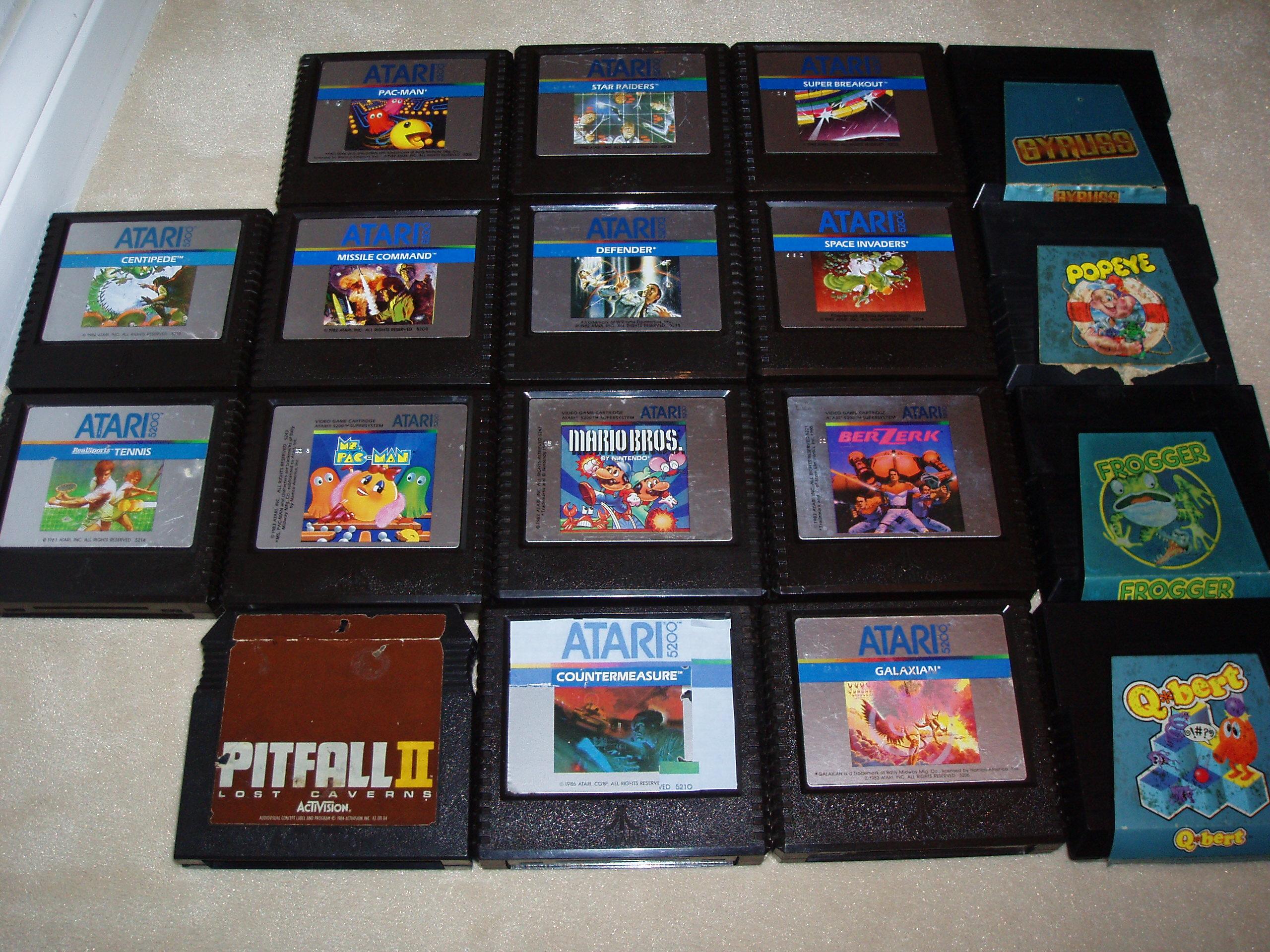 atari2600forever: Pitfall 2: Lost Caverns (Atari 5200) 103,093 points on 2017-11-23 04:17:53