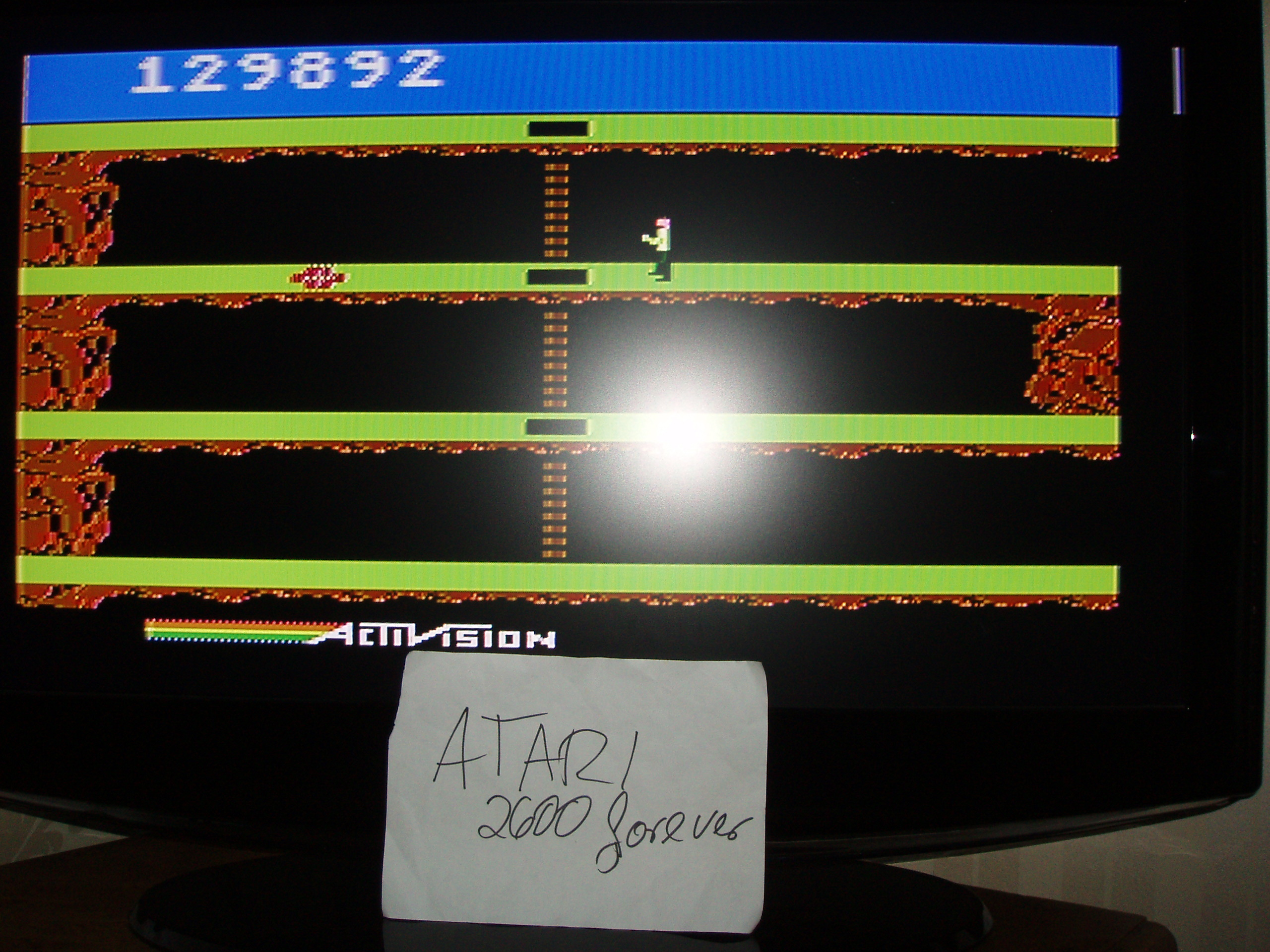 atari2600forever: Pitfall 2: Lost Caverns (Atari 5200) 129,892 points on 2018-10-04 03:54:10