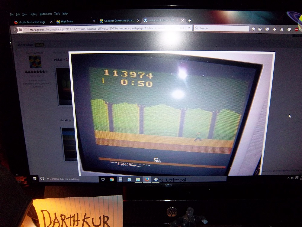 Pitfall! 113,974 points