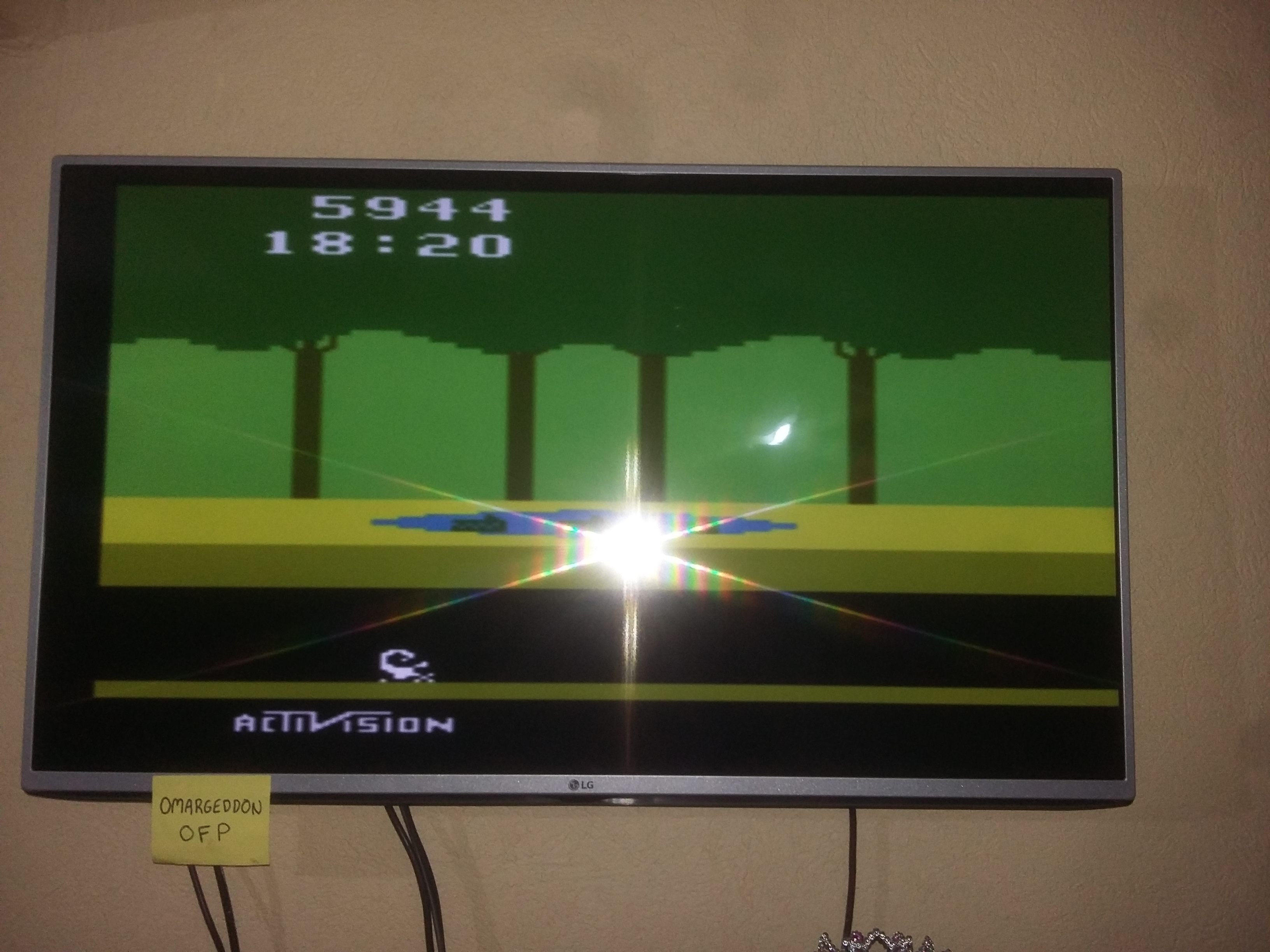 Pitfall! 5,944 points