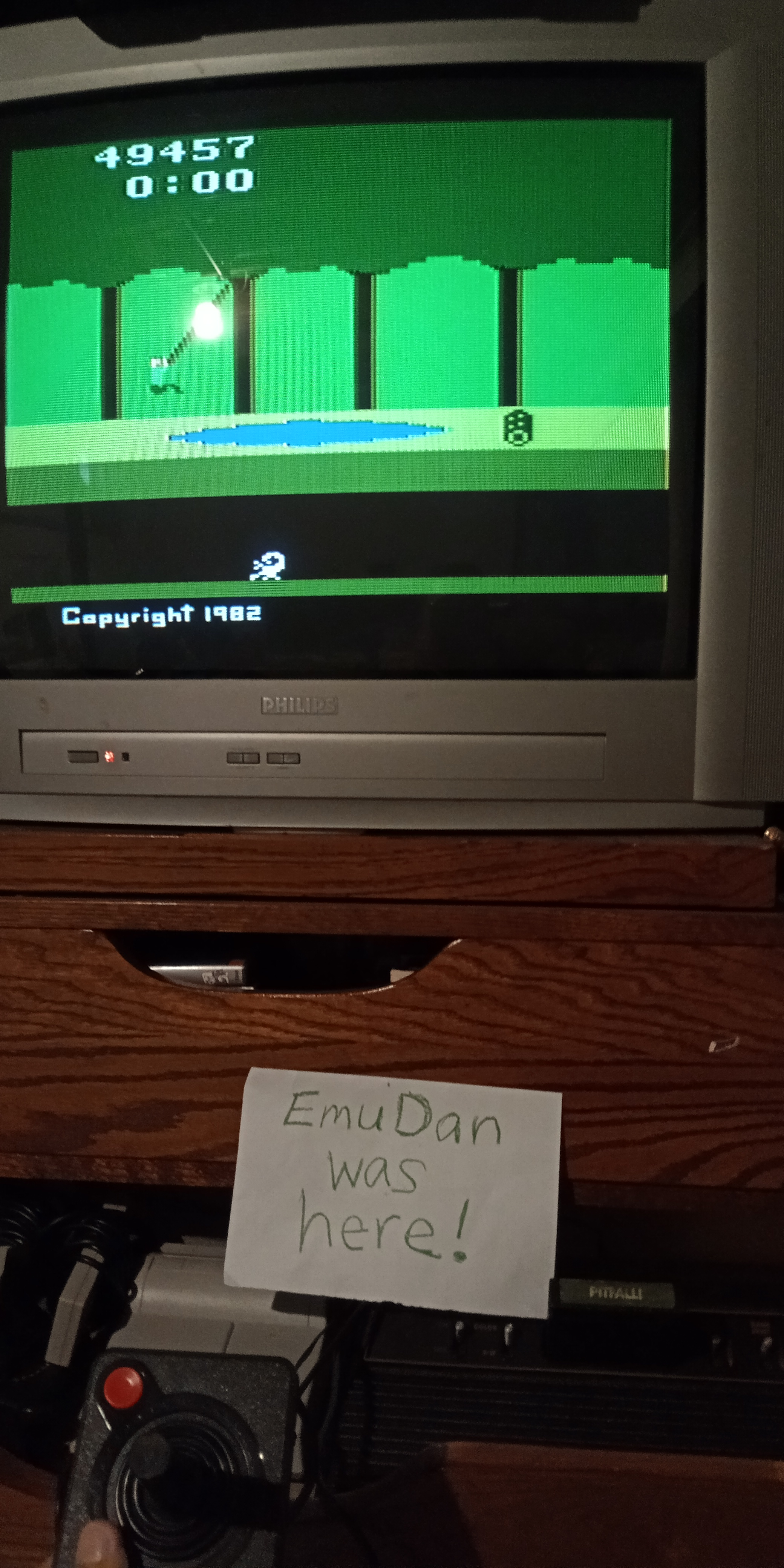 EmuDan: Pitfall! (Atari 2600 Novice/B) 49,457 points on 2019-07-12 19:36:02