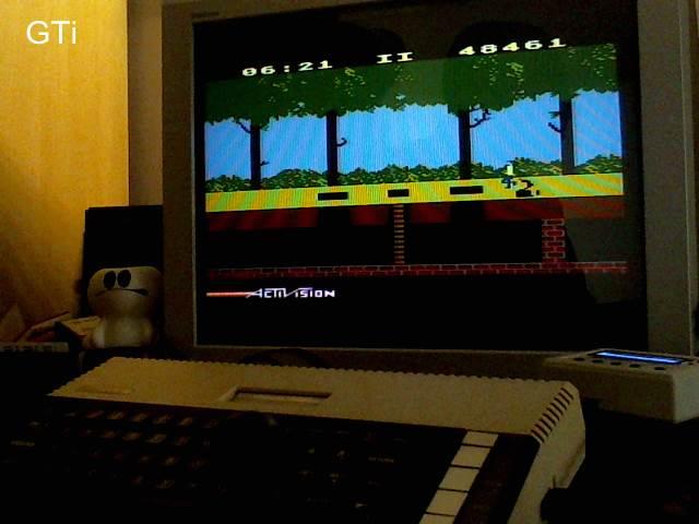 GTibel: Pitfall (Atari 400/800/XL/XE) 48,461 points on 2017-09-14 08:08:01