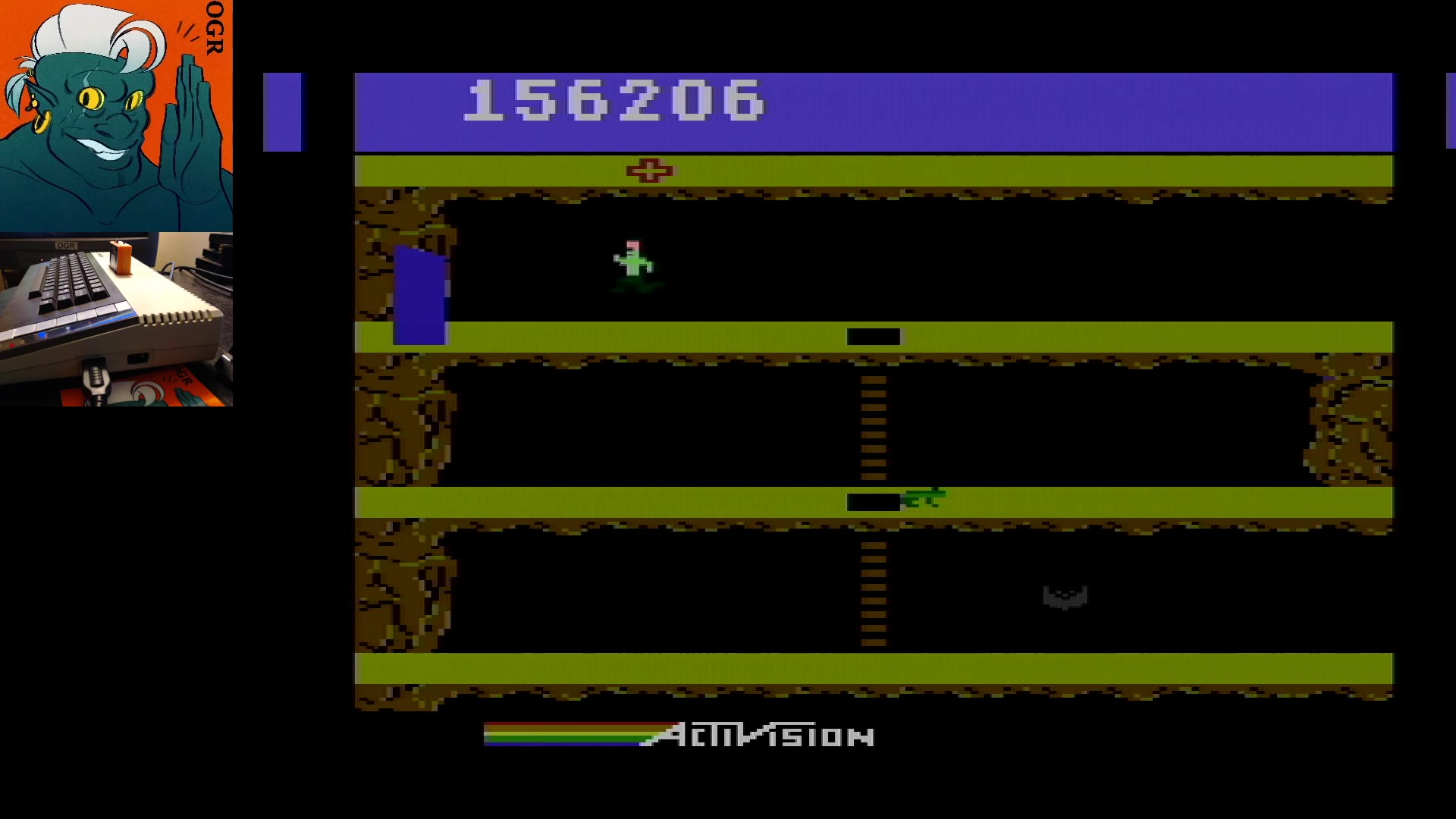 AwesomeOgre: Pitfall II (Atari 400/800/XL/XE) 156,206 points on 2020-02-01 14:00:43