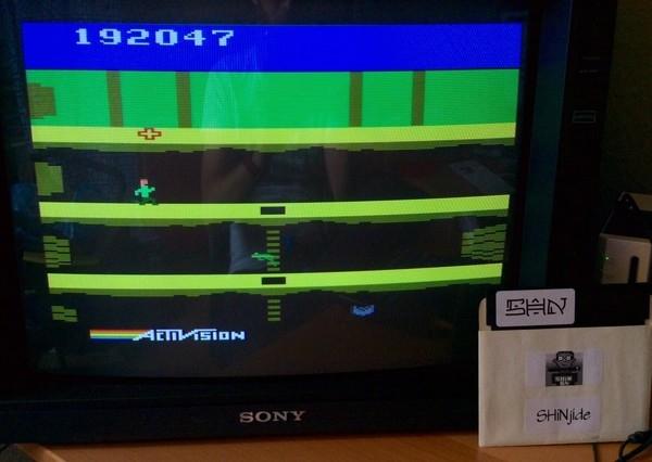 SHiNjide: Pitfall II: Lost Caverns (Atari 2600 Emulated) 192,047 points on 2015-06-20 06:18:30