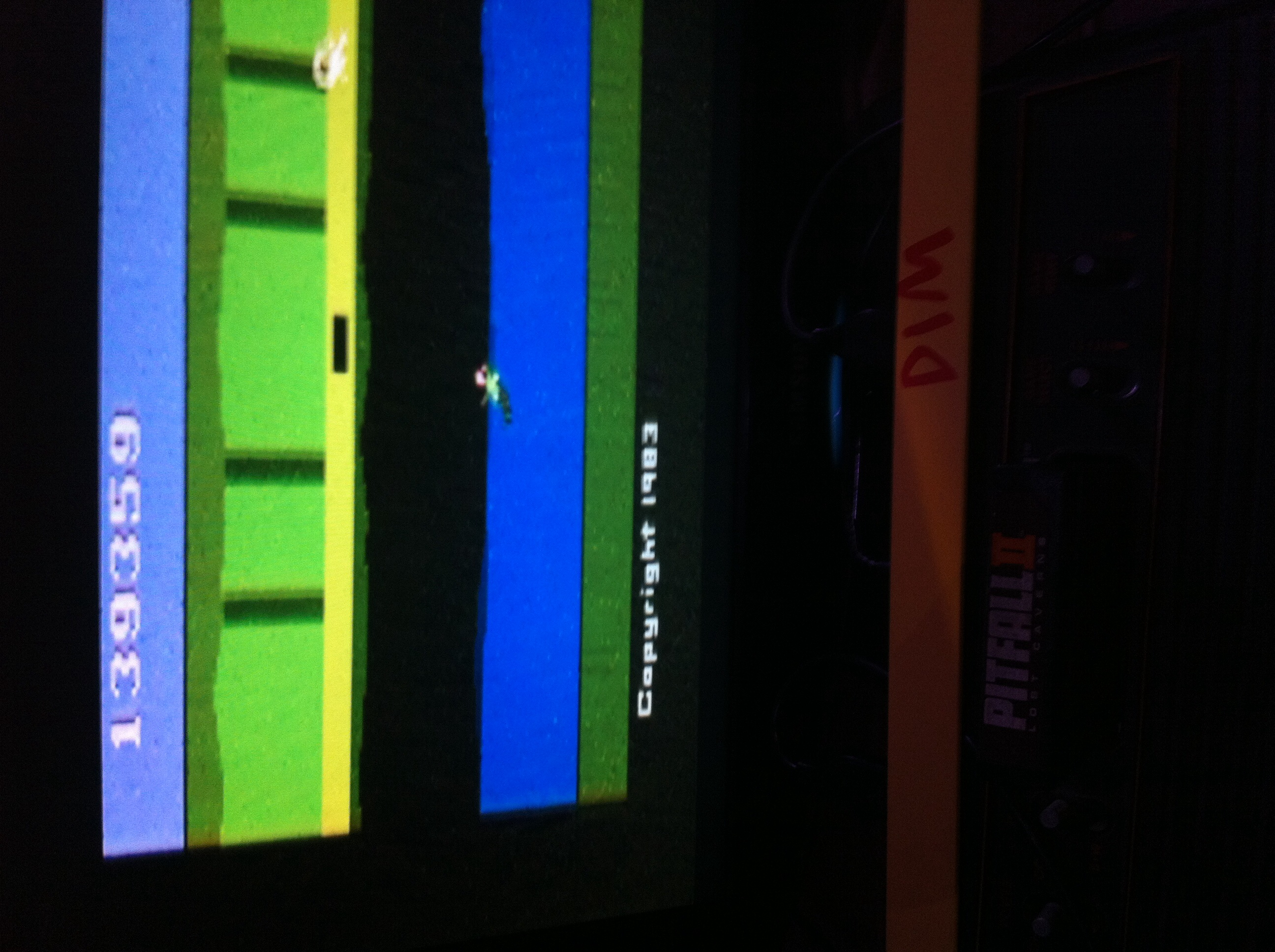 DIM: Pitfall II: Lost Caverns (Atari 2600) 139,359 points on 2015-08-04 01:00:00