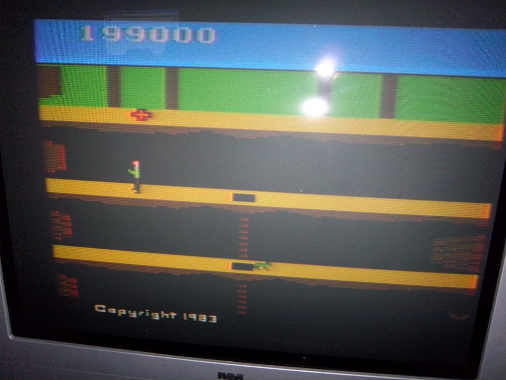 Pitfall II: Lost Caverns 199,000 points