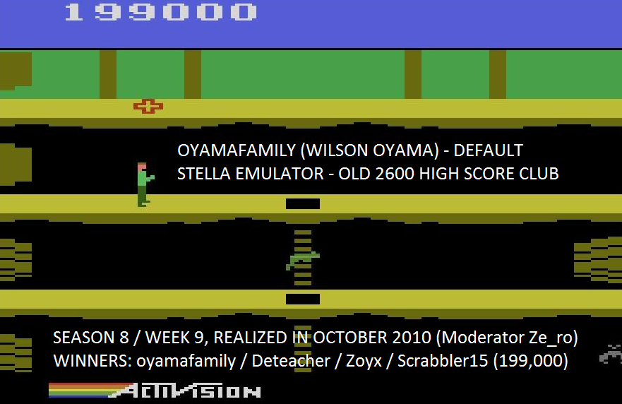 oyamafamily: Pitfall II: Lost Caverns (Atari 2600 Emulated) 199,000 points on 2016-05-27 17:01:29