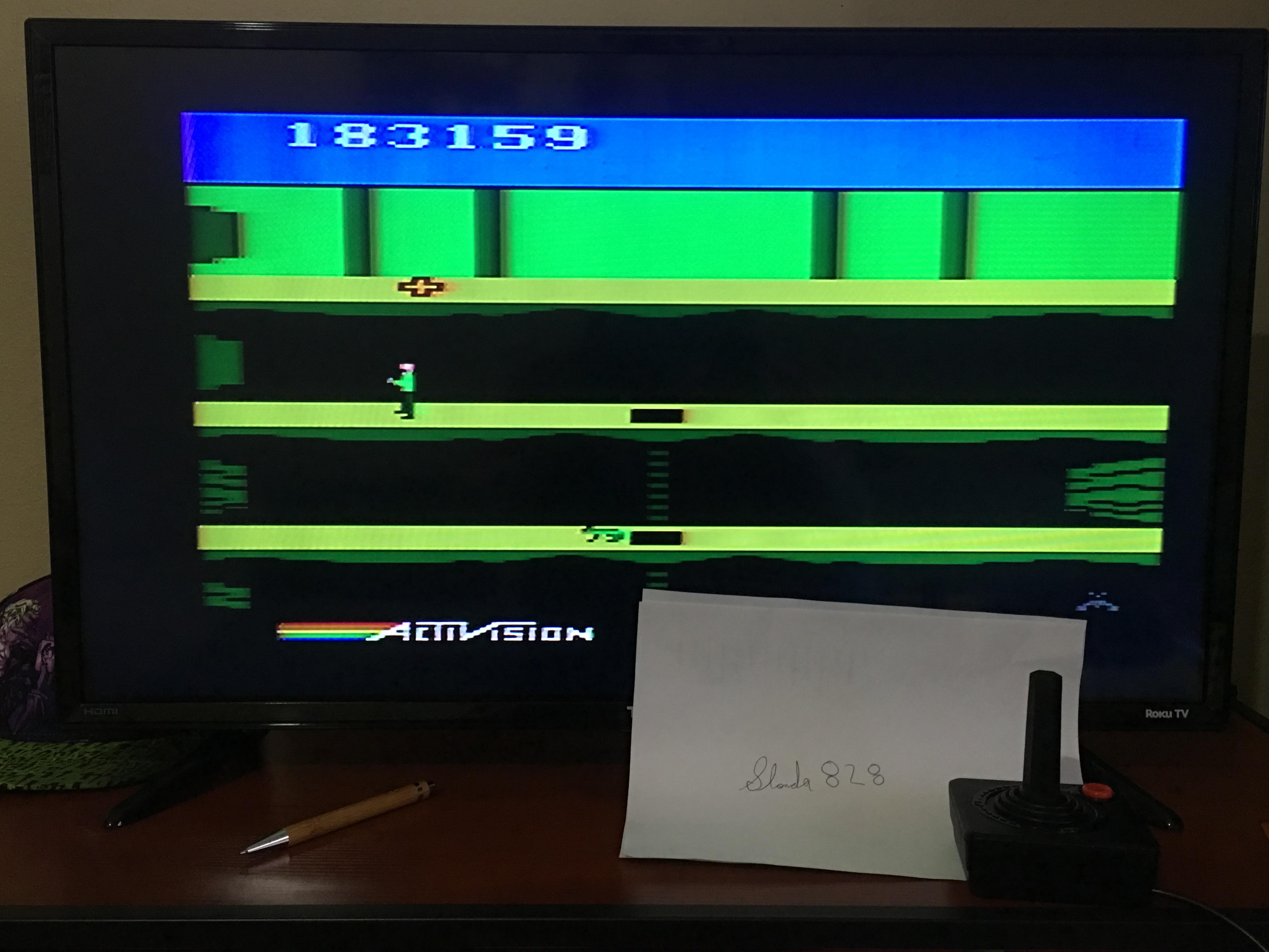 slonda828: Pitfall II: Lost Caverns (Atari 2600) 183,159 points on 2017-09-01 12:58:21