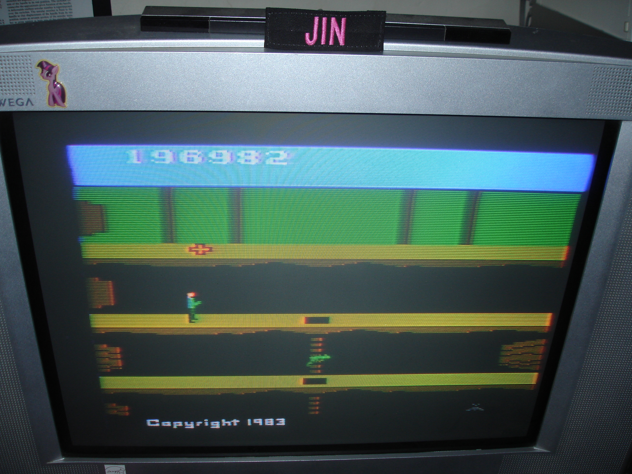 Jin: Pitfall II: Lost Caverns (Atari 2600) 196,982 points on 2017-12-11 14:55:34