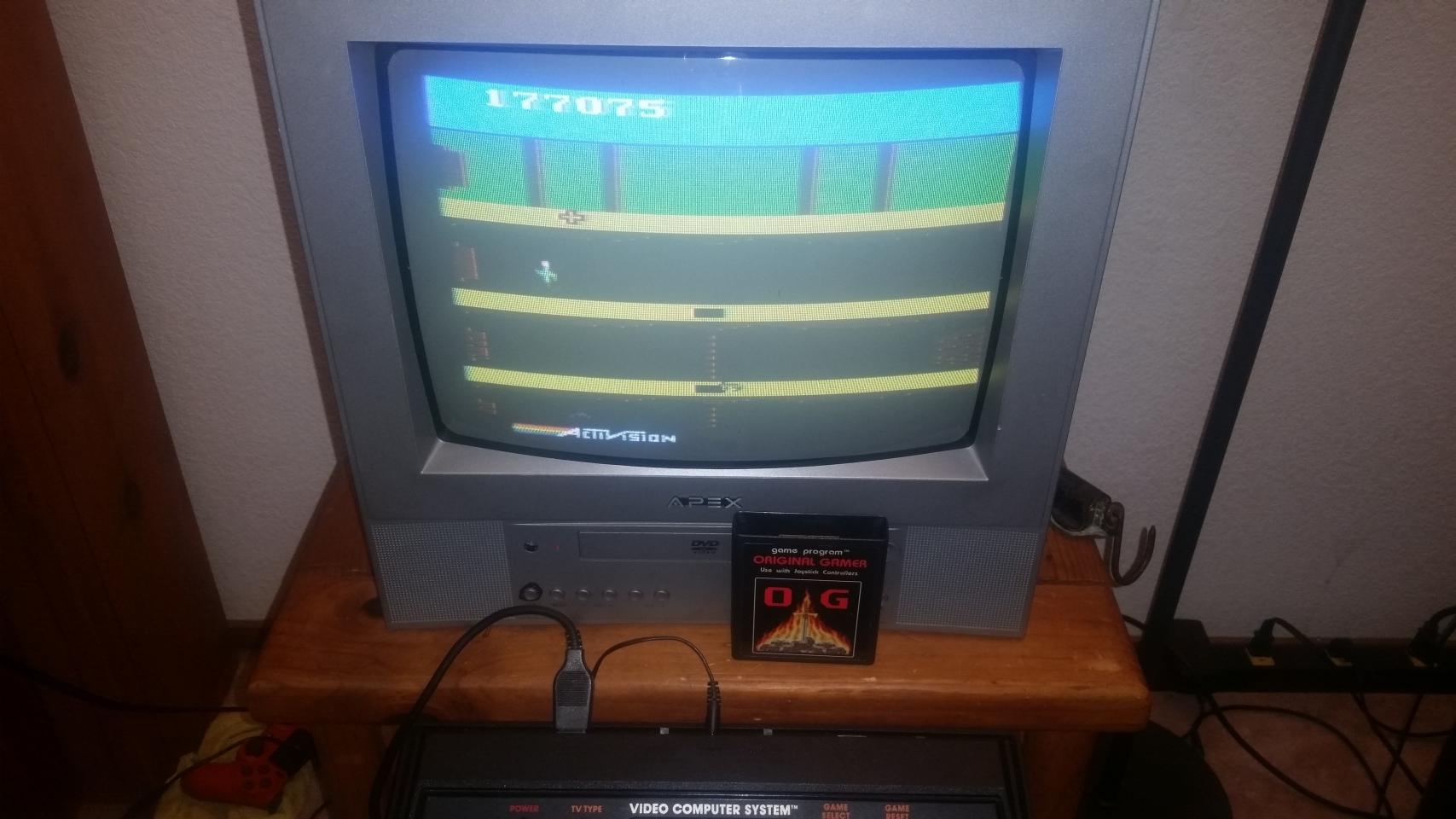 OriginalGamer: Pitfall II: Lost Caverns (Atari 2600) 177,075 points on 2018-01-07 04:08:23