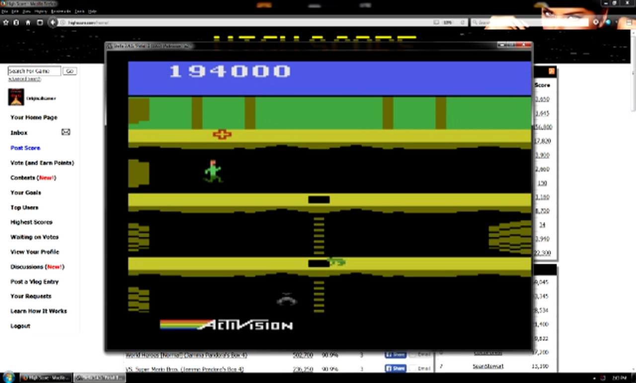 OriginalGamer: Pitfall II: Lost Caverns (Atari 2600 Emulated) 194,000 points on 2018-01-07 04:25:39
