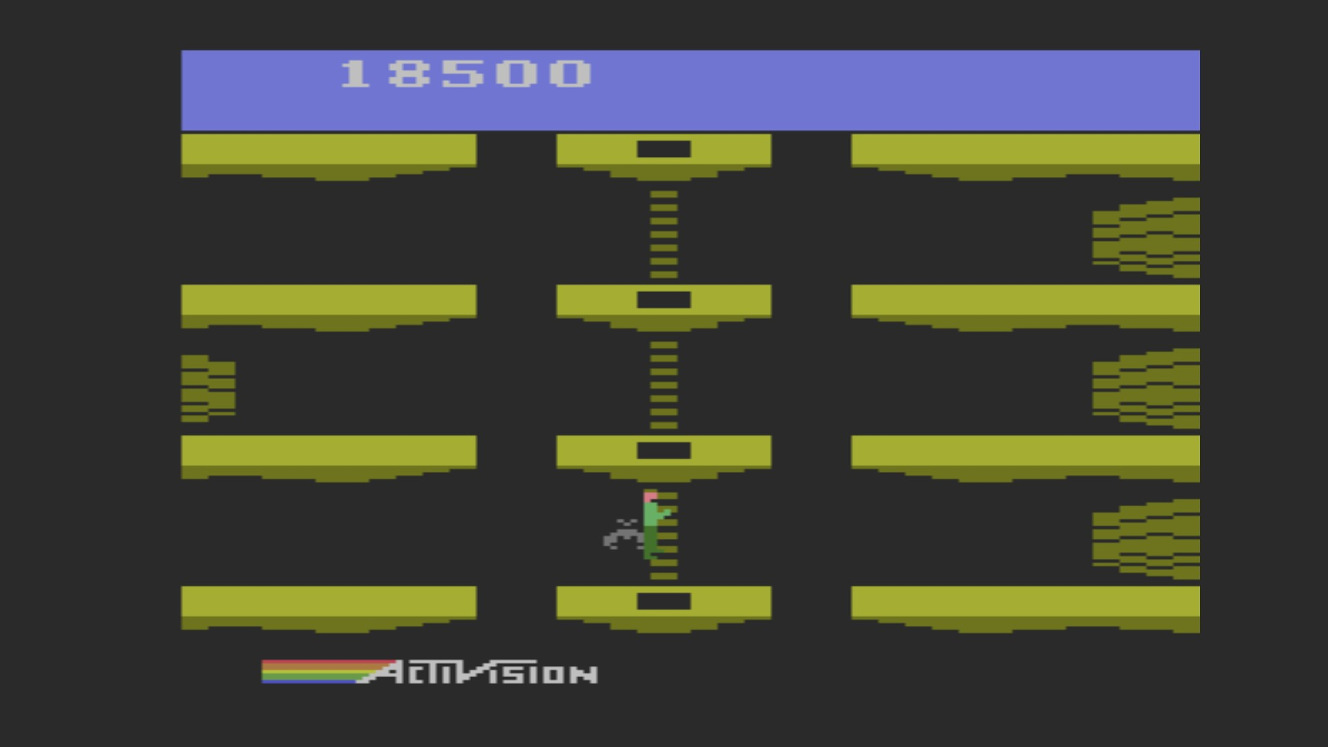 Pitfall II: Lost Caverns 18,500 points