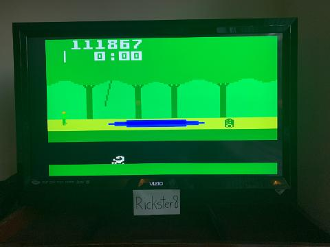 Rickster8: Pitfall (Intellivision Emulated) 111,867 points on 2020-09-13 09:44:37