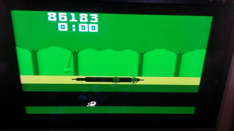 Pitfall 86,183 points