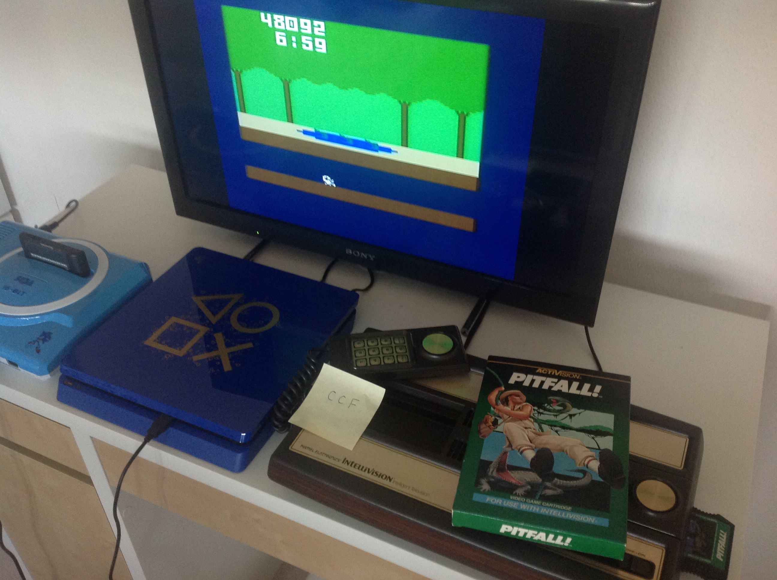 CoCoForest: Pitfall (Intellivision) 48,092 points on 2018-07-20 02:04:07