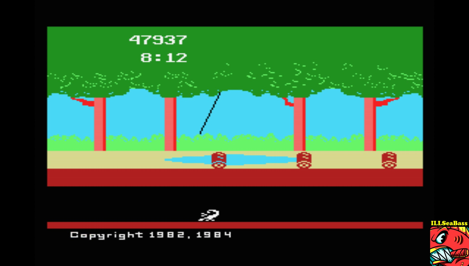 ILLSeaBass: Pitfall (MSX Emulated) 47,937 points on 2017-07-29 10:55:43