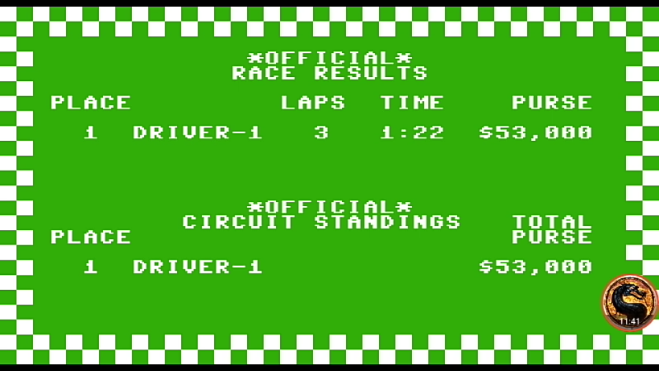 omargeddon: Pitstop: Le-Mans [3 Laps] (Commodore 64 Emulated) 0:01:22 points on 2019-09-06 14:05:06