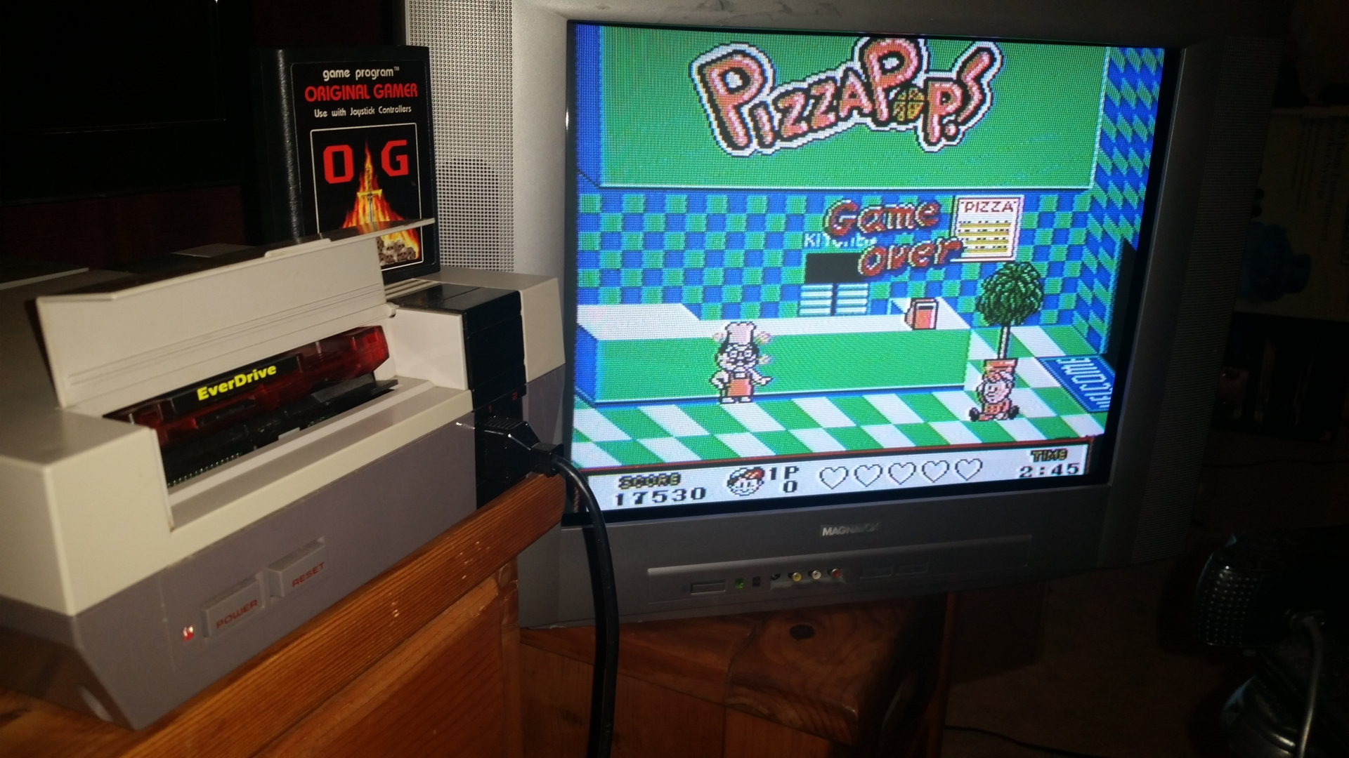 OriginalGamer: Pizza Pop! (NES/Famicom) 17,530 points on 2016-09-19 00:55:12