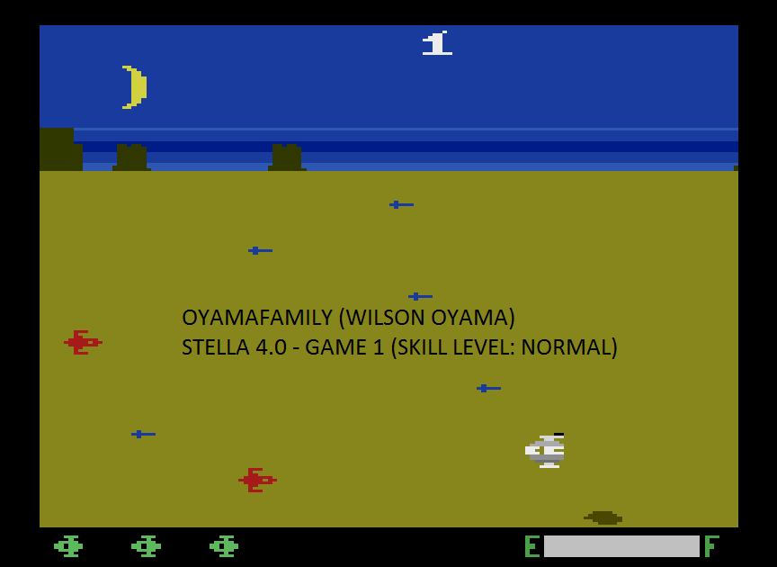 oyamafamily: Planet Patrol (Atari 2600 Emulated Expert/A Mode) 8,000 points on 2015-08-13 19:01:30