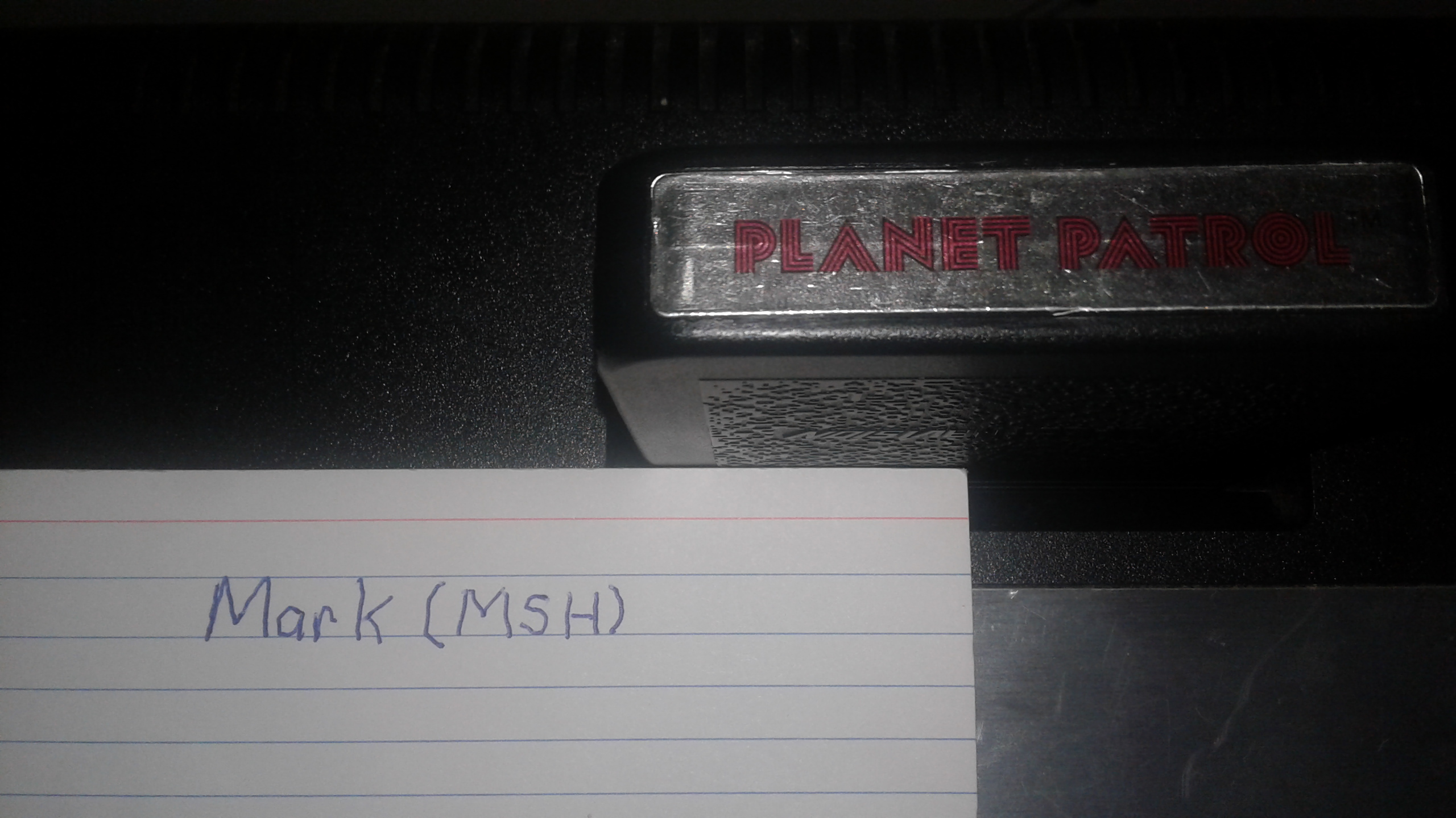 Mark: Planet Patrol [Game 3] (Atari 2600 Novice/B) 3,830 points on 2019-02-28 01:34:02