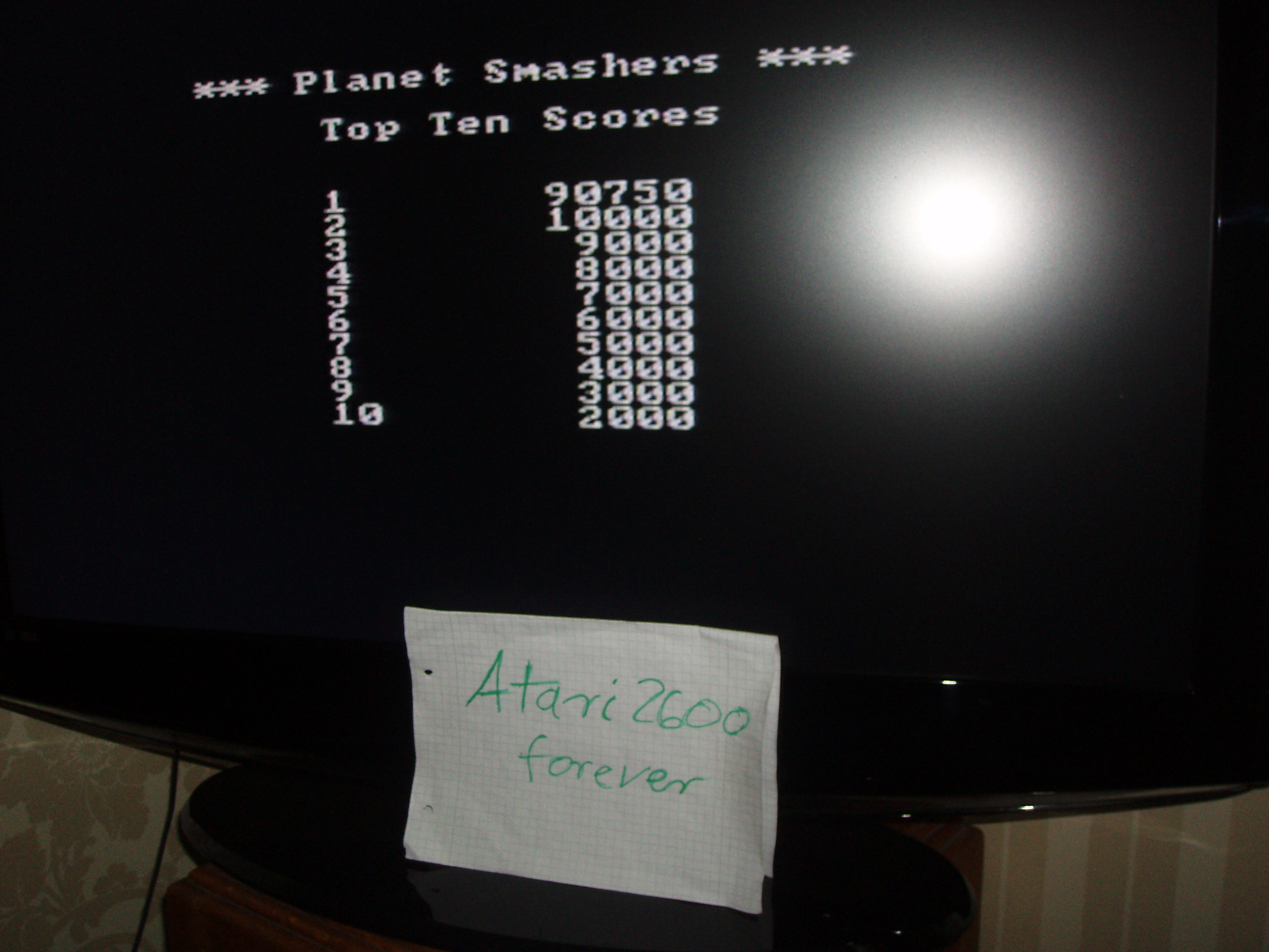Planet Smashers: Easy 90,750 points