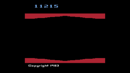 ed1475: Plaque Attack (Atari 2600 Emulated Novice/B Mode) 11,215 points on 2016-10-14 23:40:12