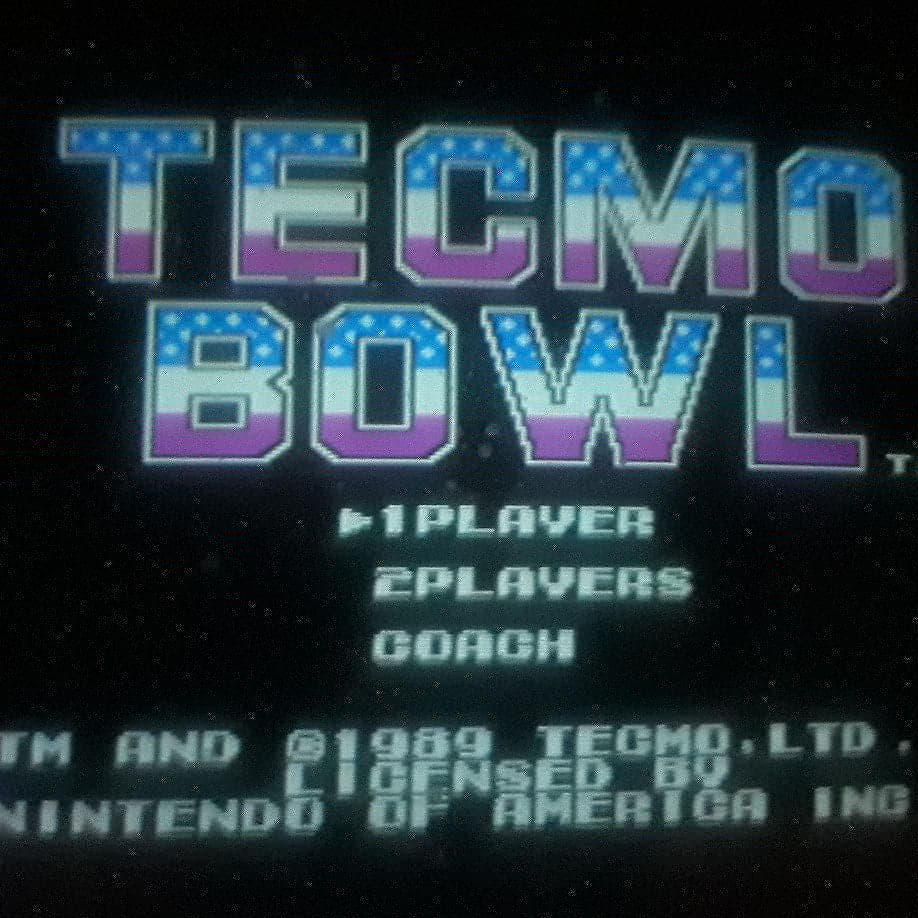 JML101582: Play-Choice 10: Tecmo Bowl [Point Differential] (Arcade) 7 points on 2019-08-24 15:16:09