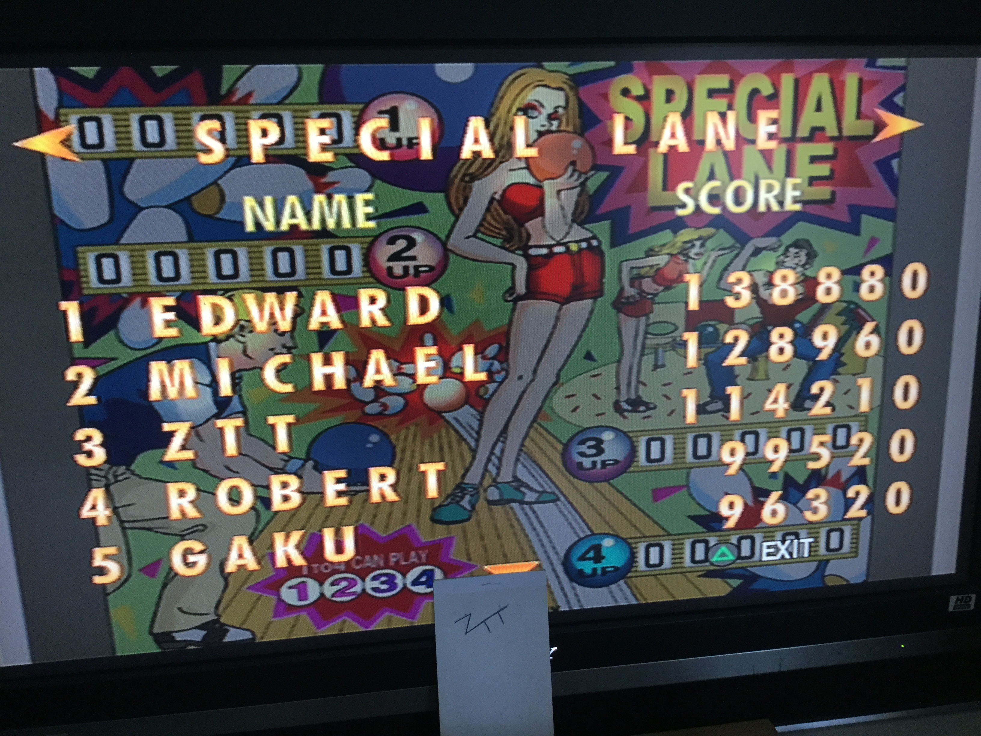 Frankie: Play It Pinball: Special Lane (Playstation 2) 114,210 points on 2019-08-17 06:28:10