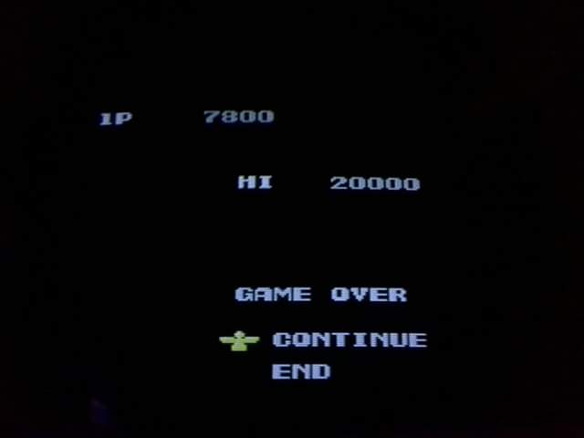 PlayChoice-10: Contra 7,800 points