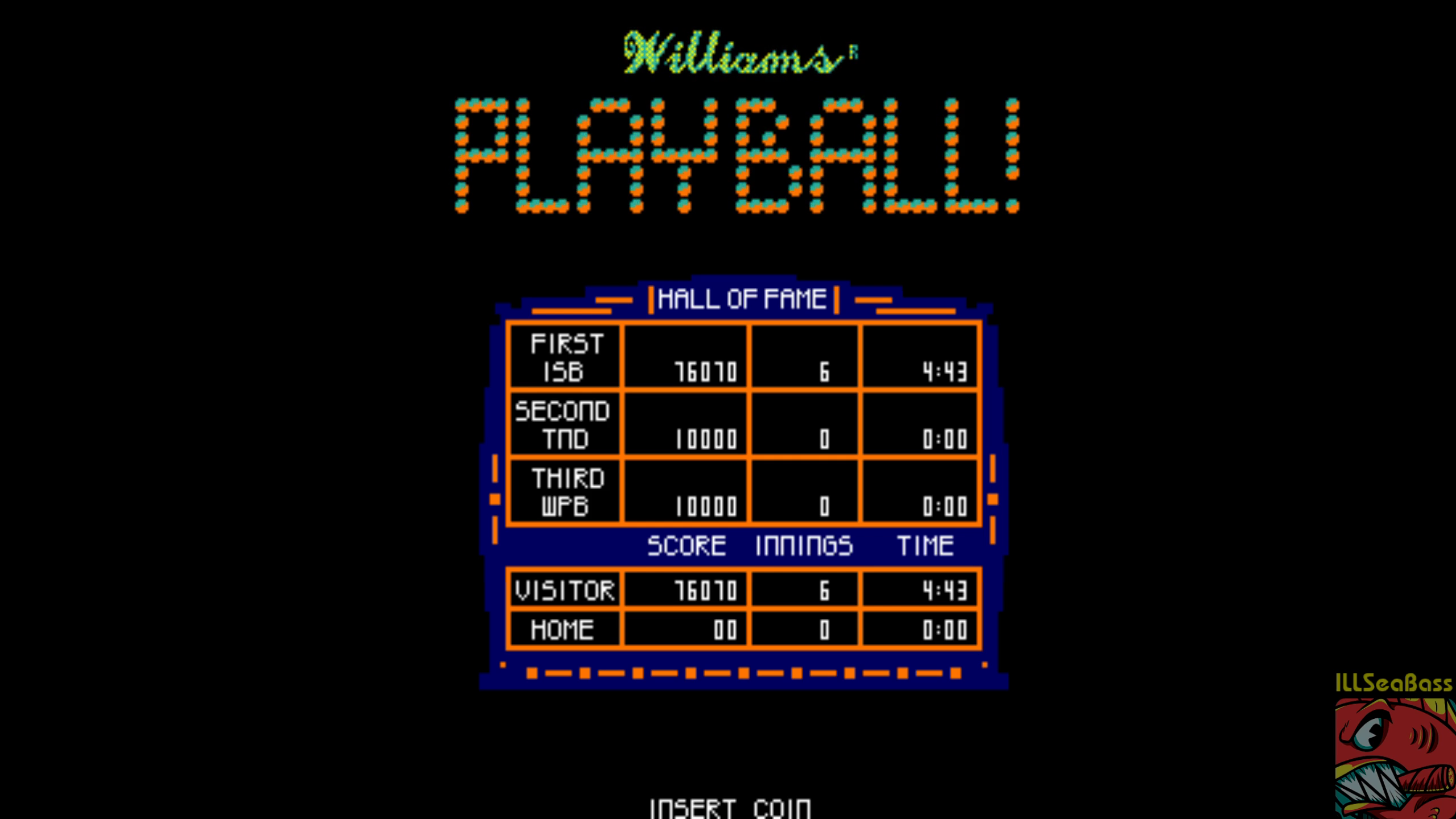ILLSeaBass: Playball! [playball] (Arcade Emulated / M.A.M.E.) 76,070 points on 2018-08-20 16:14:42