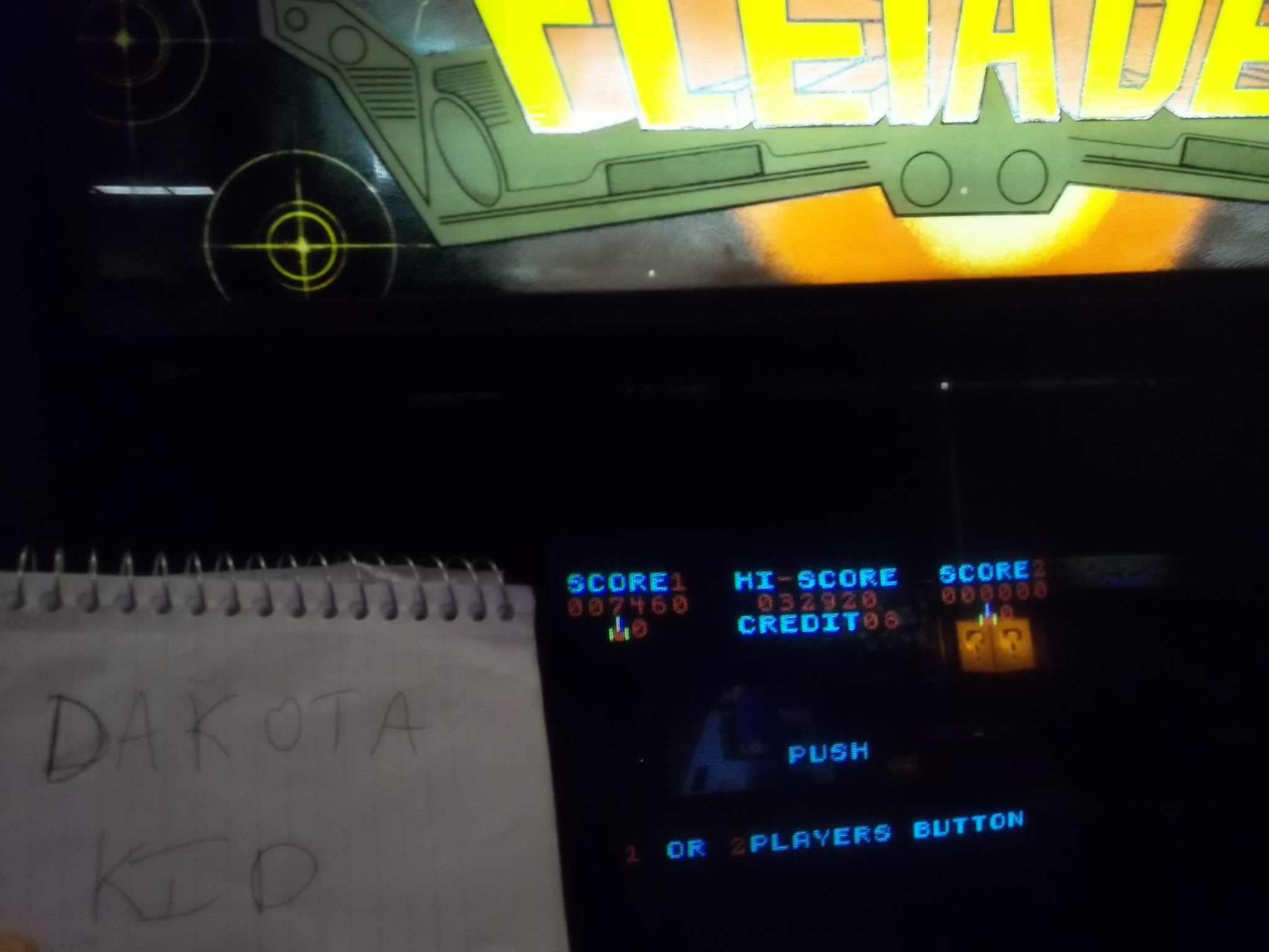 DakotaKid: Pleiades (Arcade) 7,460 points on 2017-05-26 10:55:04