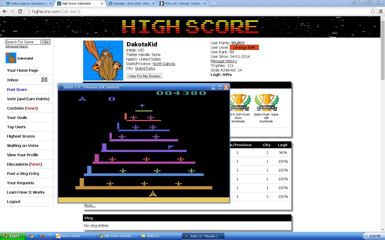 Pleiades  4,380 points