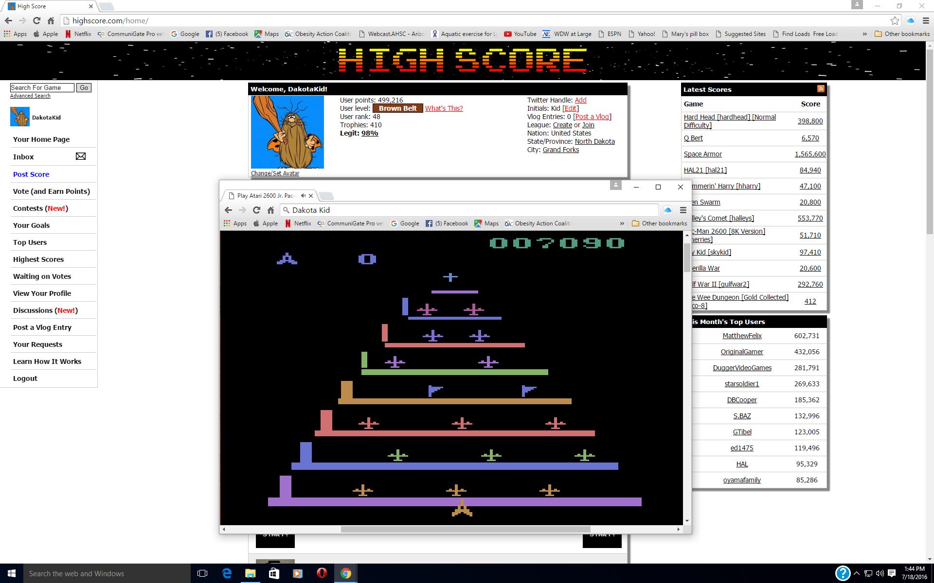 Pleiades  7,090 points