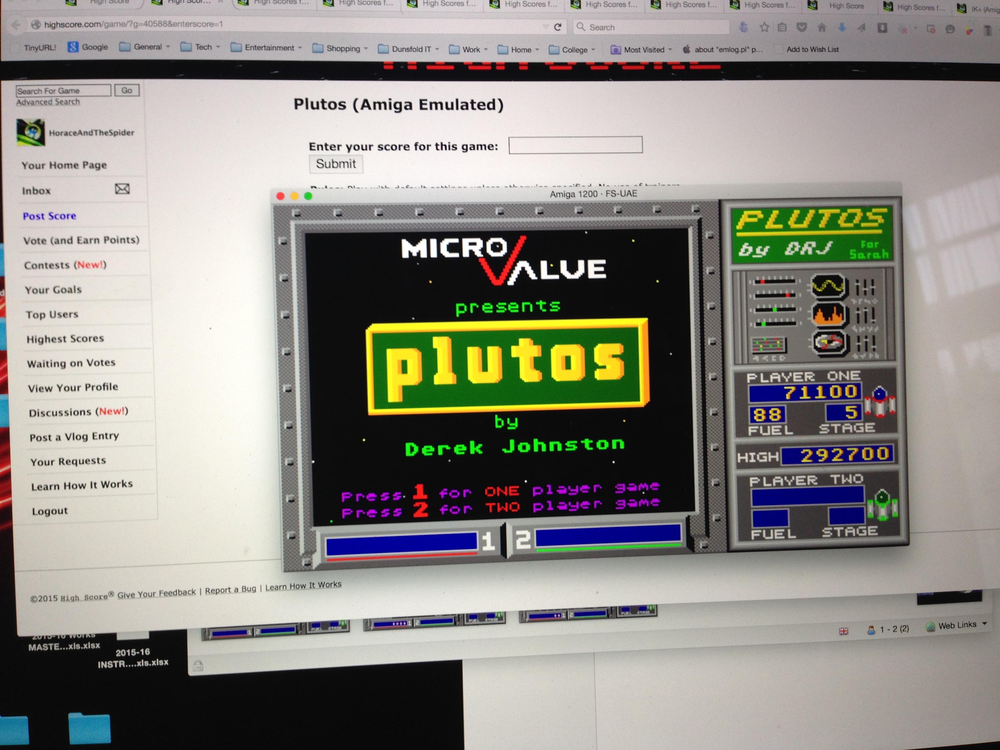 Plutos 71,100 points