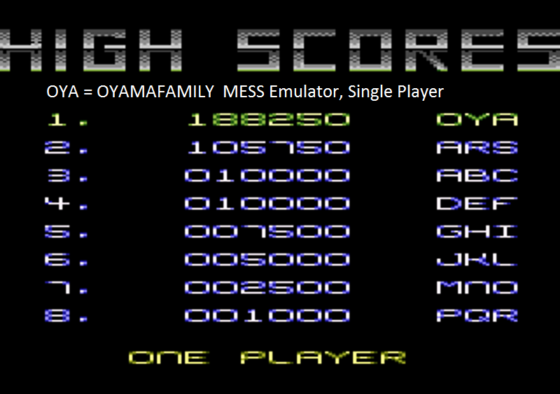 oyamafamily: Plutos (Atari 7800 Emulated) 188,250 points on 2015-09-14 20:15:52