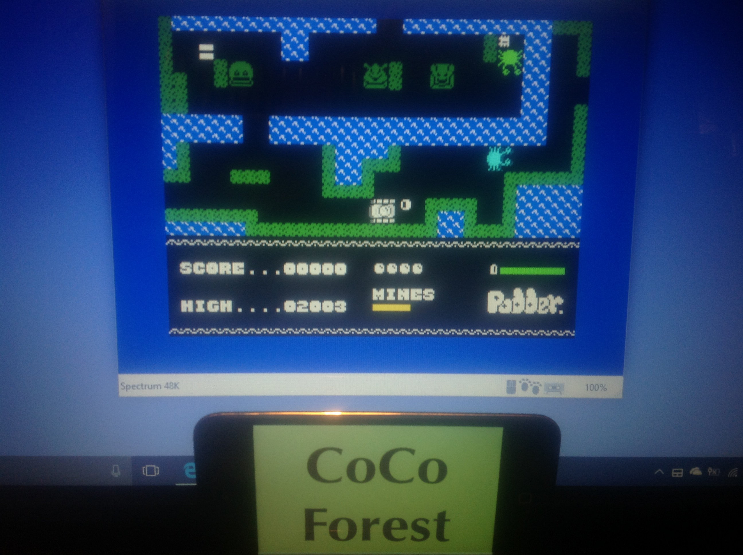 CoCoForest: Podder (ZX Spectrum Emulated) 2,003 points on 2018-01-17 13:37:45