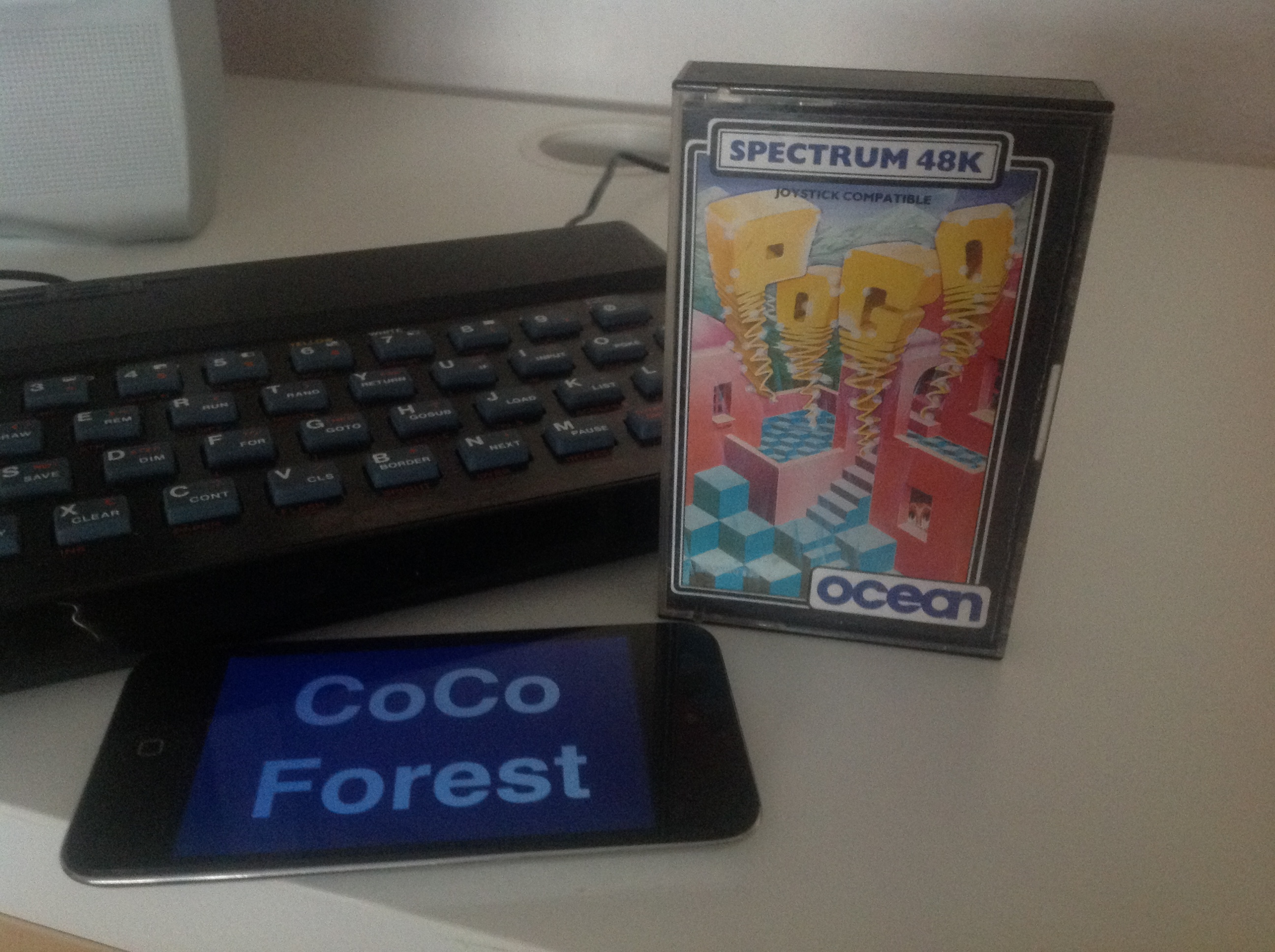 CoCoForest: Pogo (ZX Spectrum) 47,875 points on 2016-01-08 07:56:30