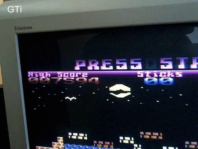 GTibel: Pogotron (Atari 400/800/XL/XE) 7,594 points on 2017-09-14 03:05:52