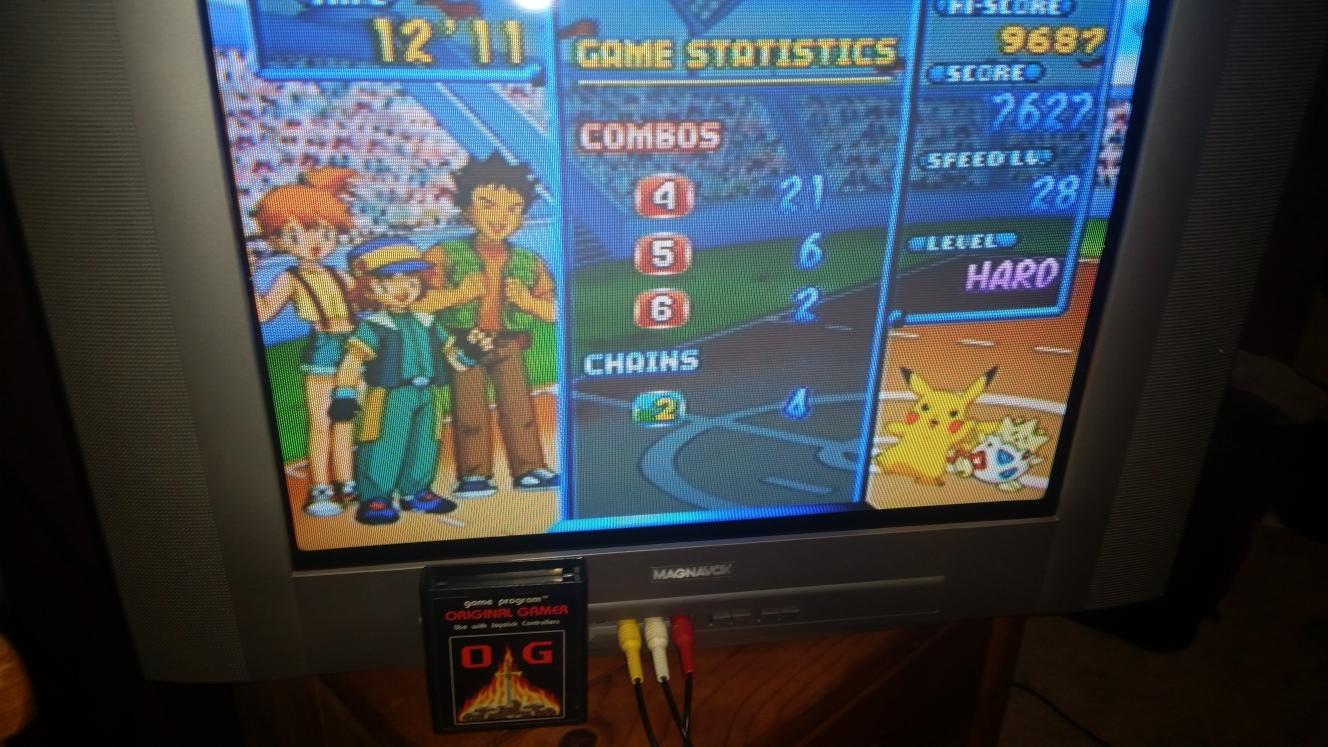 OriginalGamer: Pokémon Puzzle League [Marathon] [Hard] (N64) 7,627 points on 2016-05-02 23:09:44