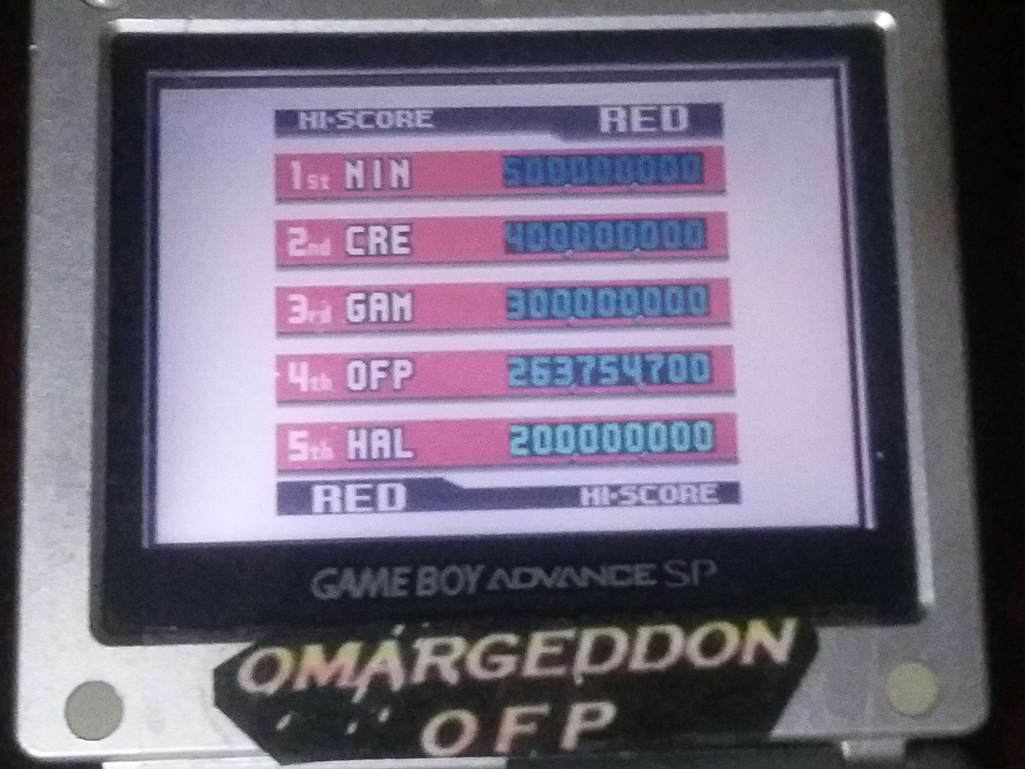 omargeddon: Pokemon Pinball: Red (Game Boy Color) 263,754,700 points on 2018-03-17 20:24:20
