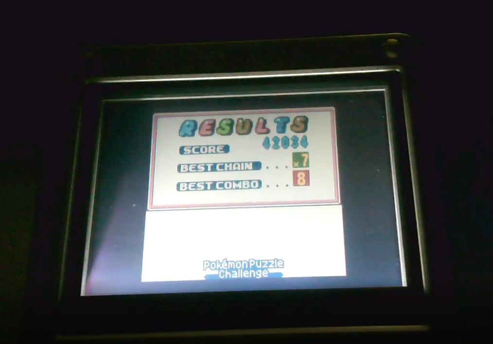 Mimitchi: Pokemon Puzzle Challenge (Game Boy Color) 42,034 points on 2020-03-01 10:29:34