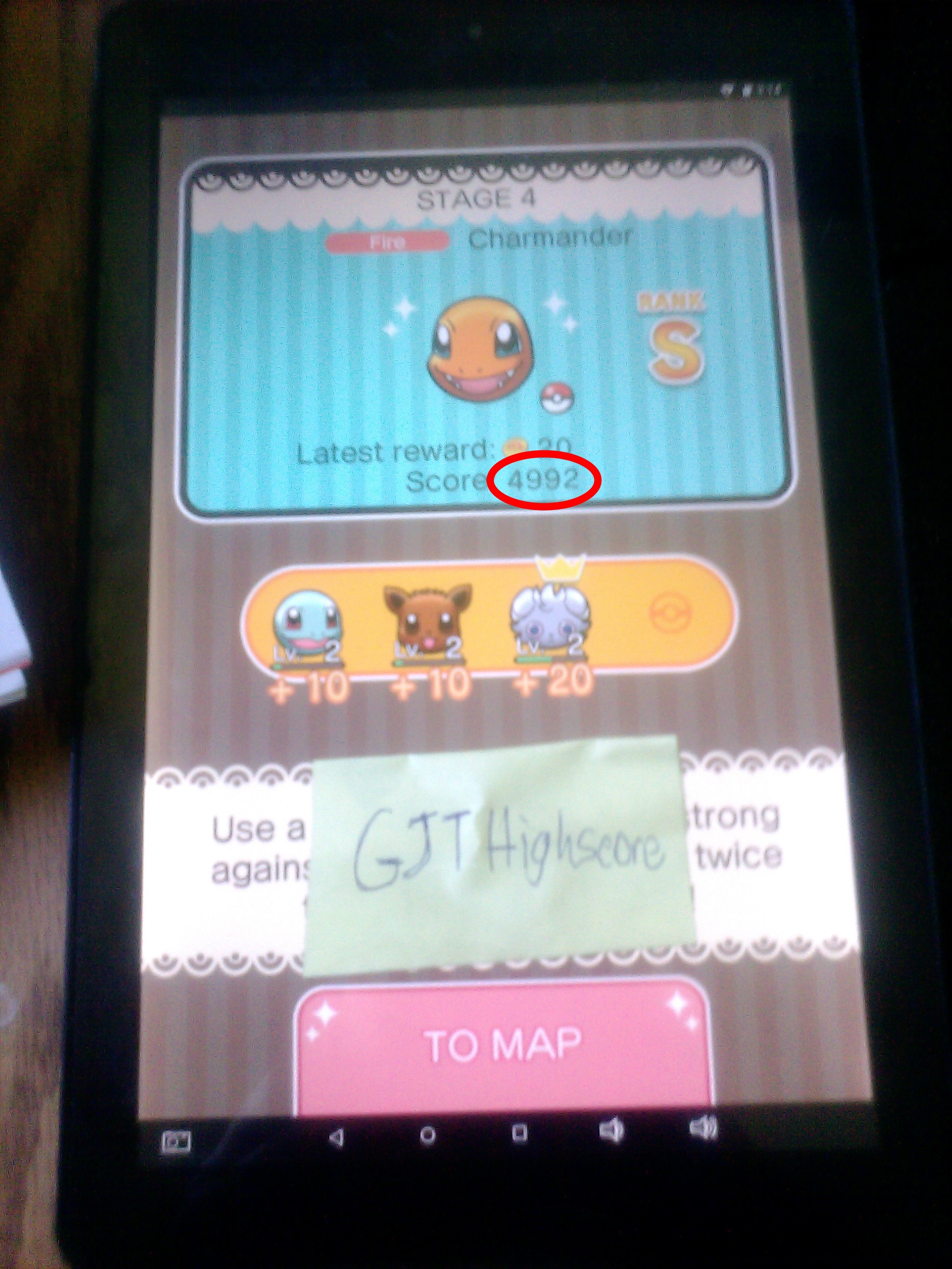 GJTHighScore: Pokemon Shuffle Mobile: Stage 004 (Android) 4,992 points on 2017-07-15 19:30:05