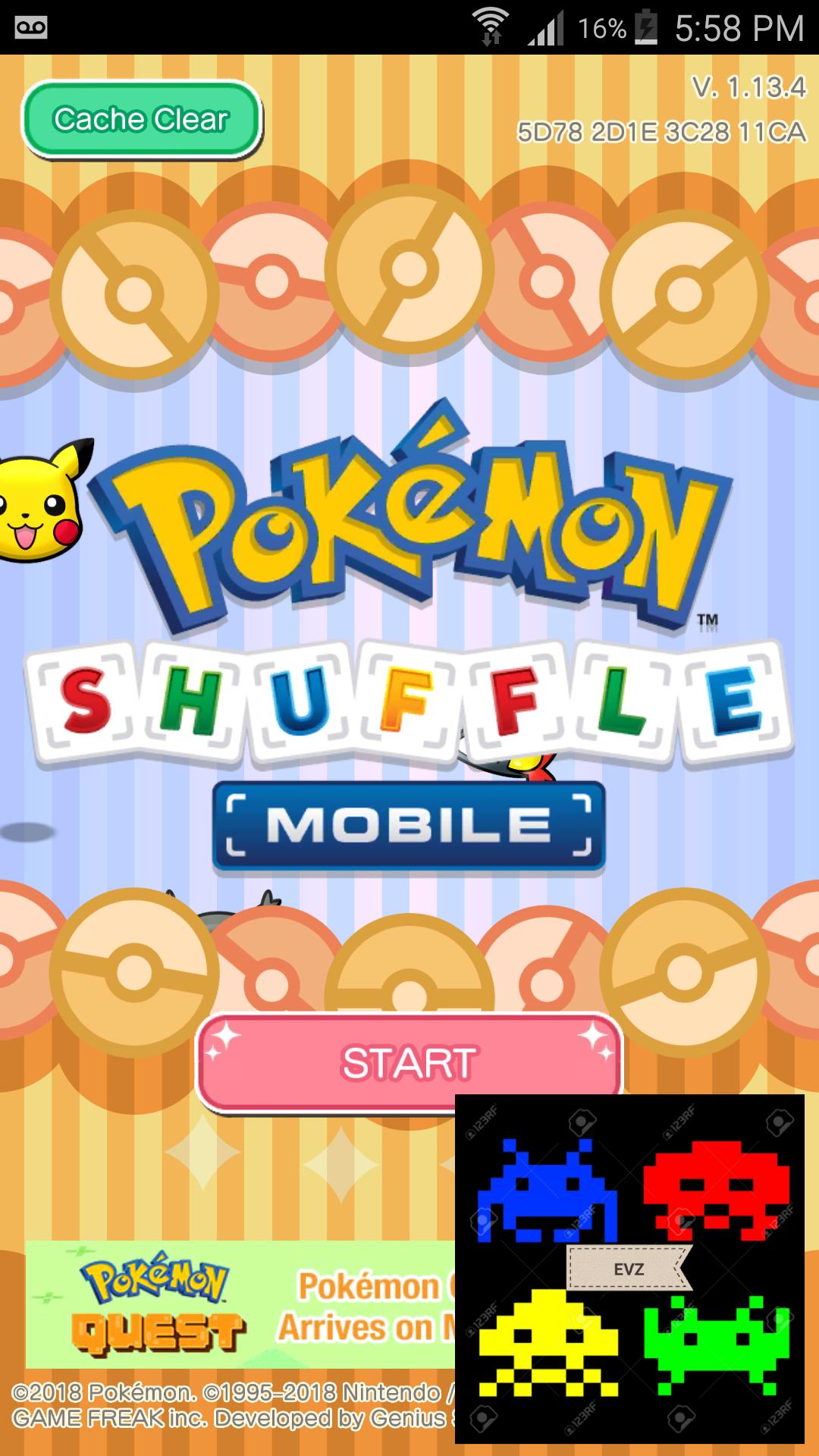 Pokemon Shuffle Mobile: Stage 014 1,362 points