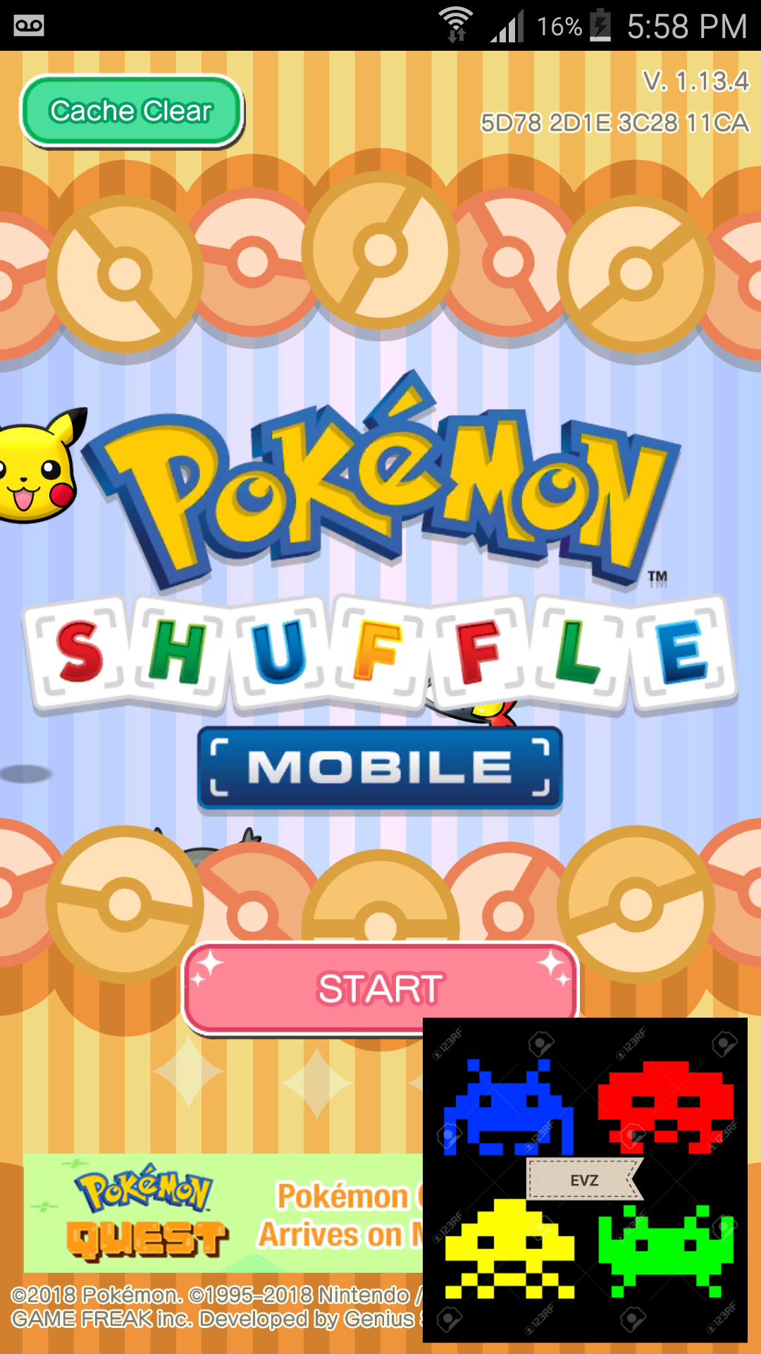 Pokemon Shuffle Mobile: Stage 015 2,910 points